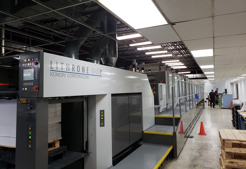 Komori Press at Hess Print Solutions